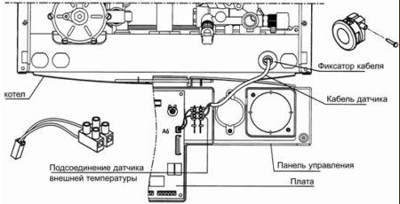 схема подключения датчика температуры выхлопных газов - Сделай сам!